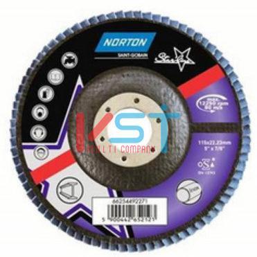 Круг лепестковый NORTON STARLINE 125x22 P80