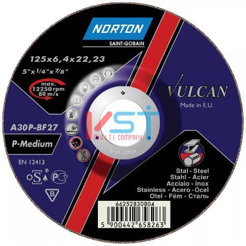Круг зачистной NORTON VULCAN A30P