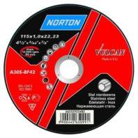 Круг зачистной NORTON VULCAN INOX для нержавеющей стали