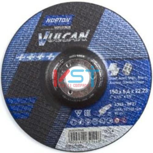 Круг зачистной NORTON VULCAN INOX