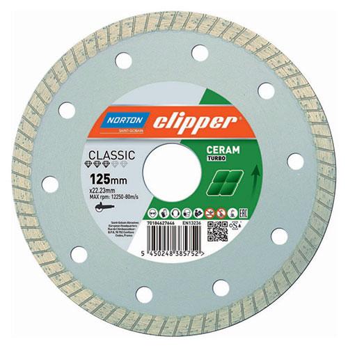Алмазный диск NORTON Clipper Classic Ceram Turbo / Classic Ceram XT