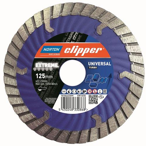 Алмазный диск NORTON Clipper Extreme Universal Turbo