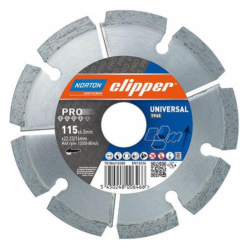 Алмазный диск NORTON Clipper PRO Universal TP-V
