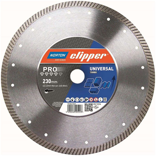 Алмазный диск NORTON Clipper PRO Universal Turbo