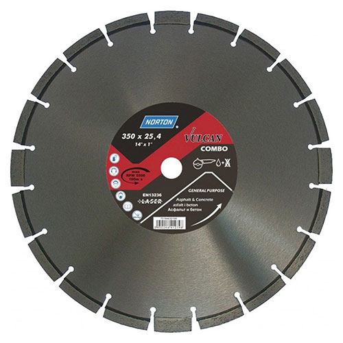 Алмазный диск NORTON Clipper Vulcan Combo