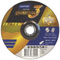 Круг зачистной NORTON QUANTUM 3 с керамикой