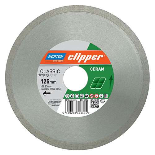 Алмазный диск NORTON Clipper Classic Ceram