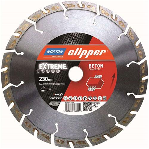 Алмазный диск NORTON Clipper Extreme Beton