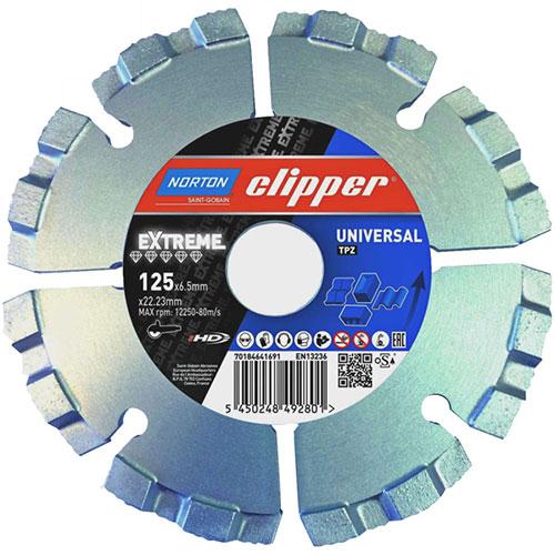 Алмазный диск NORTON Clipper Extreme Universal TP-Z