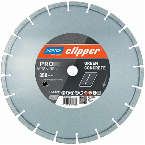 Алмазный диск NORTON Clipper Green Concrete / M45 EVO