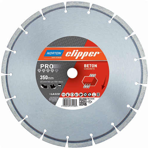 Алмазный диск NORTON Clipper PRO Beton