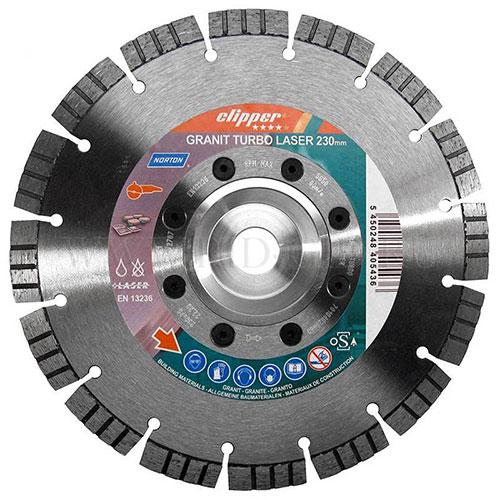 Алмазный диск NORTON Clipper PRO Granite Turbo для гранита
