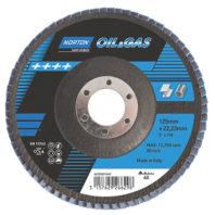 Лепестковый зачистной диск NORTON Oil & Gas R828
