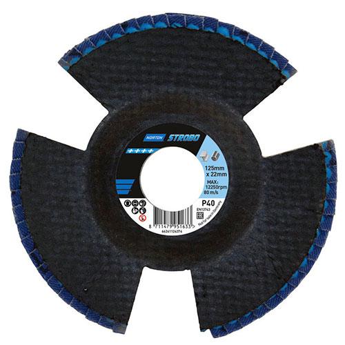 Лепестковый диск NORTON Strobo R828 с визуальным контролем