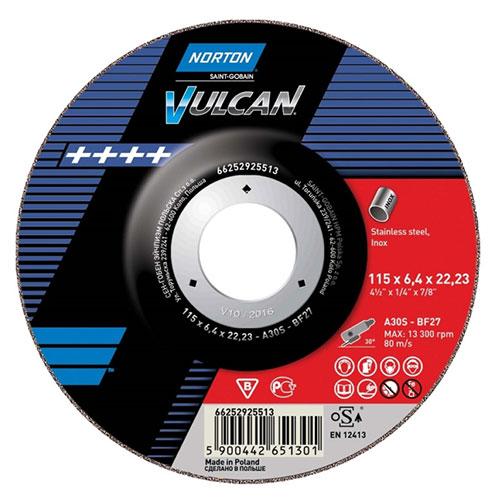 Круг отрезной NORTON Vulcan Inox
