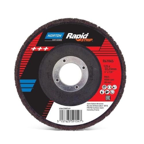 Зачистной диск для удаления ржавчины