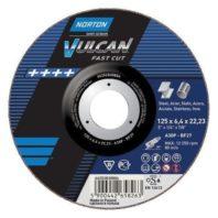 Круг зачистной NORTON VULCAN для металла или нержавеющей стали