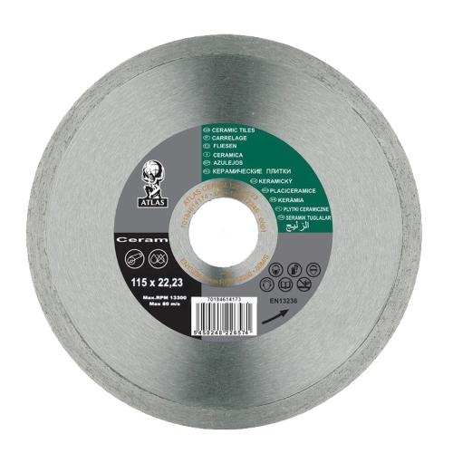 Алмазный диск NORTON Atlas Ceram 115x1.7x22.23