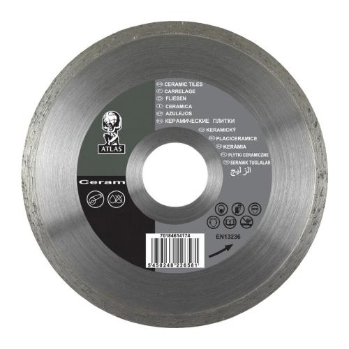 Алмазный диск NORTON Atlas Ceram 180x1.7x25.4