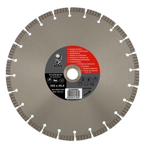 Алмазный диск NORTON Atlas Turbo Laser 350х25.4