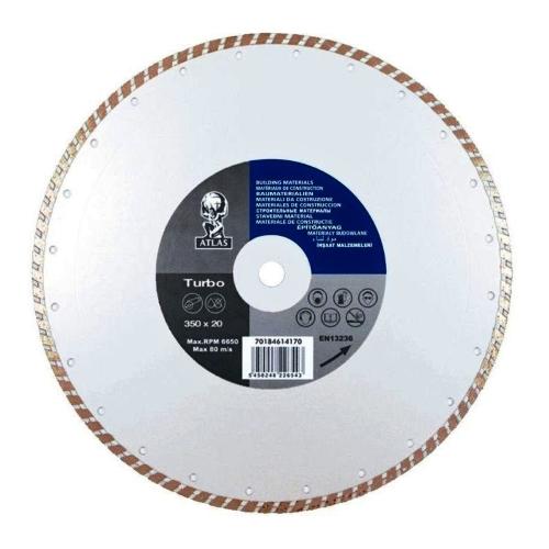 Алмазный диск NORTON Atlas Uni Turbo 350х25.4